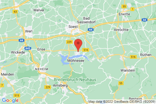 Karte Möhnesee