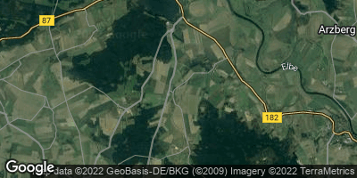 Google Map of Pflückuff bei Torgau