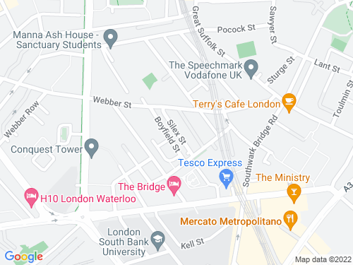Map of Silex Street
