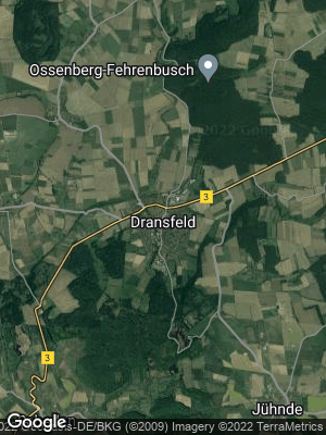 Google Map of Dransfeld