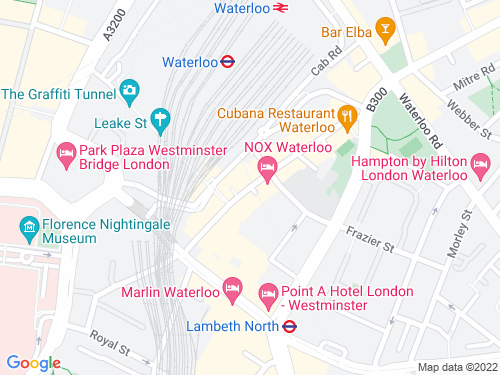 Map of Grindal Street
