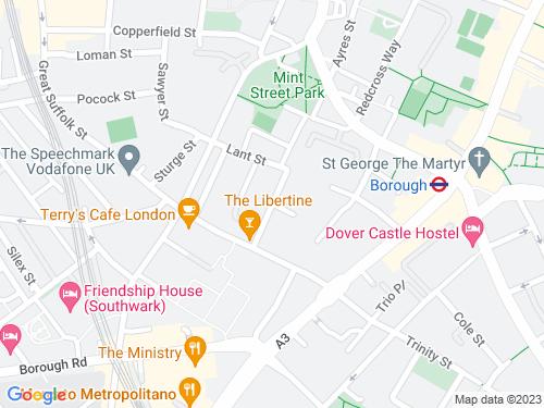 Map of Toulmin Street