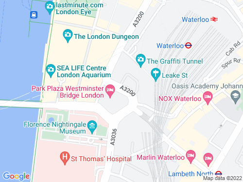 Map of Addington Street