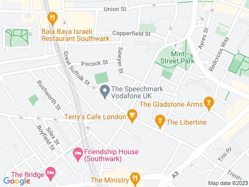 Map of Sturge Street