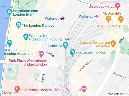 Map of Leake Street