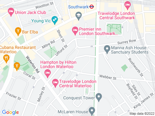 Map of Valentine Place