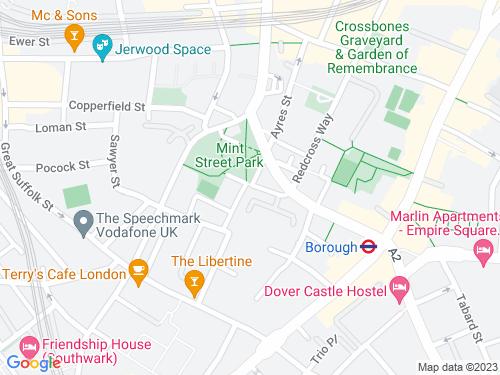 Map of Mint Street