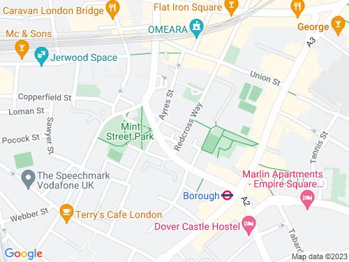 Map of Dorrit Street