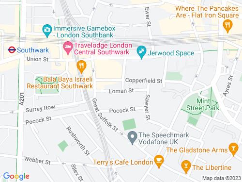 Map of Loman Street