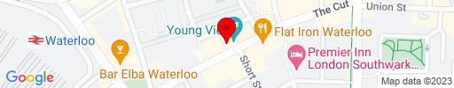 Map of The Cut Bar & Restaurant