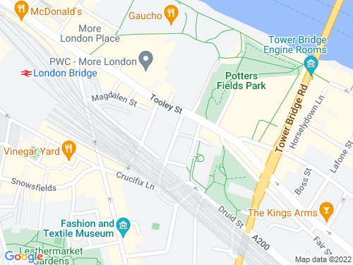 Map of Barnham Street
