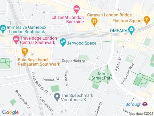 Map of Pepper Street