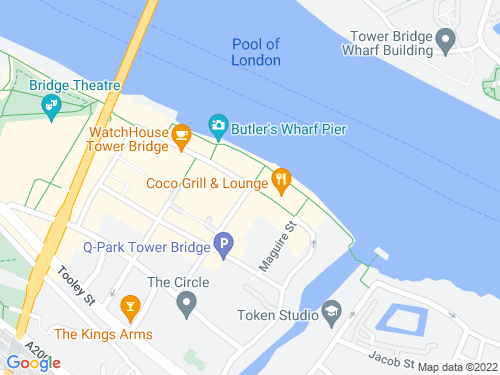 Map of Shad Thames