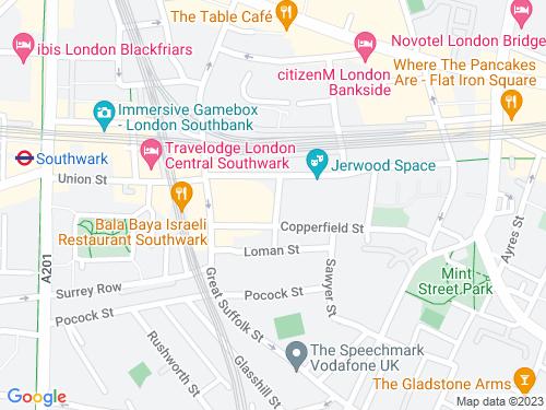 Map of Risborough Street