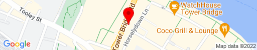 Map of Tower Bridge Kitchen