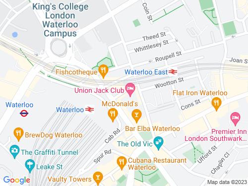 Map of Sandell Street