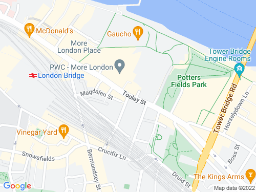 Map of Tooley Street