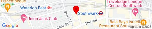 Map of Bankside Cafe
