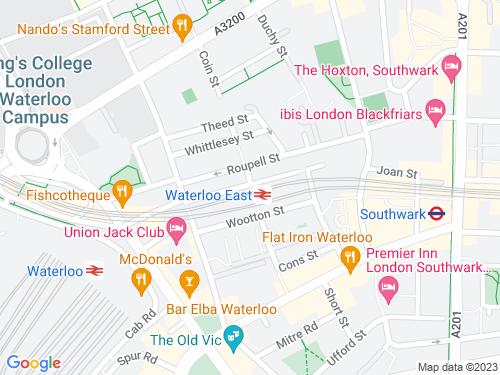 Map of Brad Street