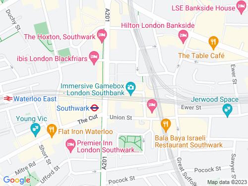 Map of Scoresby Street