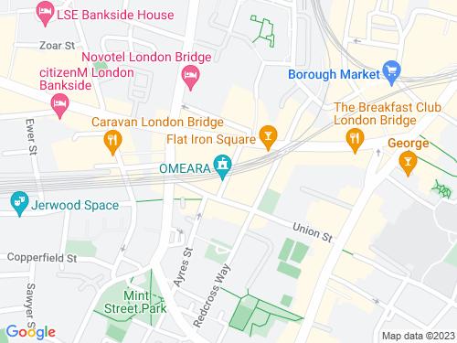 Map of O'Meara Street