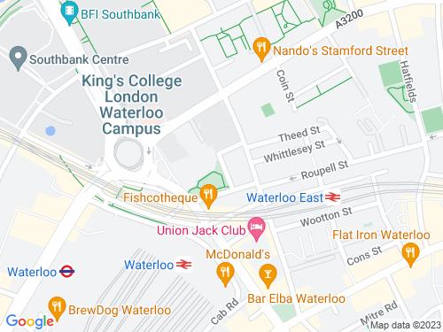 Map of Secker Street