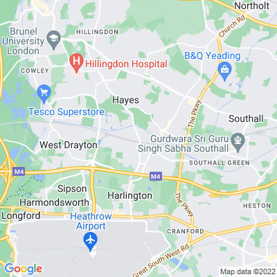 Dawley House, Harlington Location