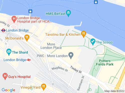 Map of More London Place