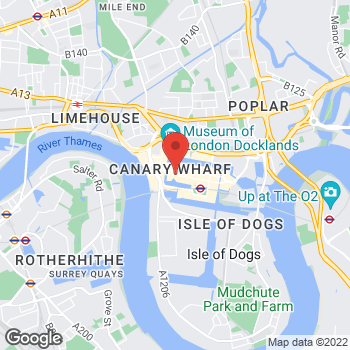Map of Charlotte Tilbury - Space NK Canary Wharf at Cabot Square, London, Großraum London E14 4QT