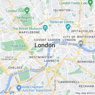 Whitehall Palace Location