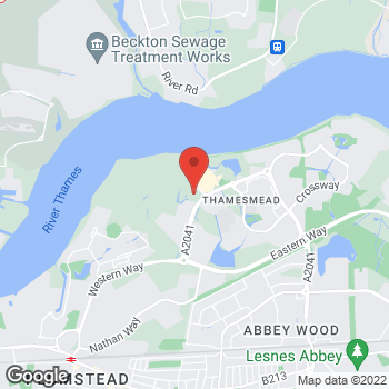 Map of wilko Thamesmead at Cannon Retail Park, London,  SE28 8RD