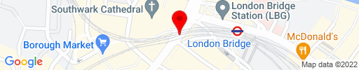 Map of London Bridge Kebab