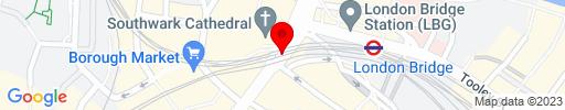 Map of London Bridge Kebab