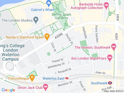 Map of Aquinas Street