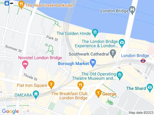 Map of Stoney Street