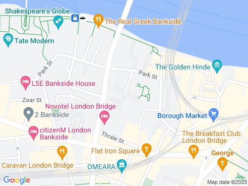 Map of Porter Street