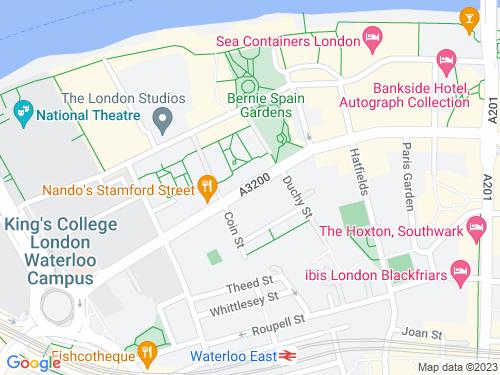 Map of Stamford Street