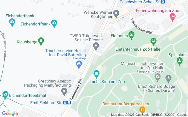 Karte des Veranstaltungsortes
