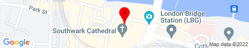 Map of Southwark Cathedral Refectory