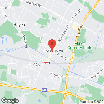 Map of wilko Hayes at 1 Pump Lane, Hayes, Middlesex UB3 3NB