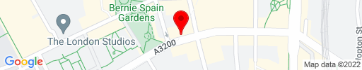 Map of Bangkok Bar & Kitchen