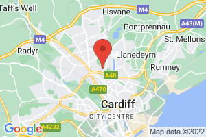 Health Library (Cardiff University) on the map