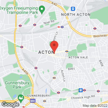 Map of wilko Acton at Unit 6 The Oaks Shopping Centre, Acton, London W3 6RE