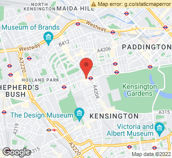 Map of Flowers On The Hill@Tylers at 104-106 Notting Hill Gate, London, Inner London W11 3QA