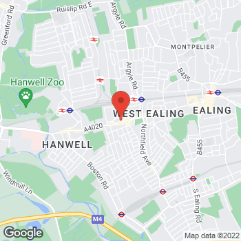 Map of wilko West Ealing at 90-94 The Broadway, West Ealing,  W13 0SY