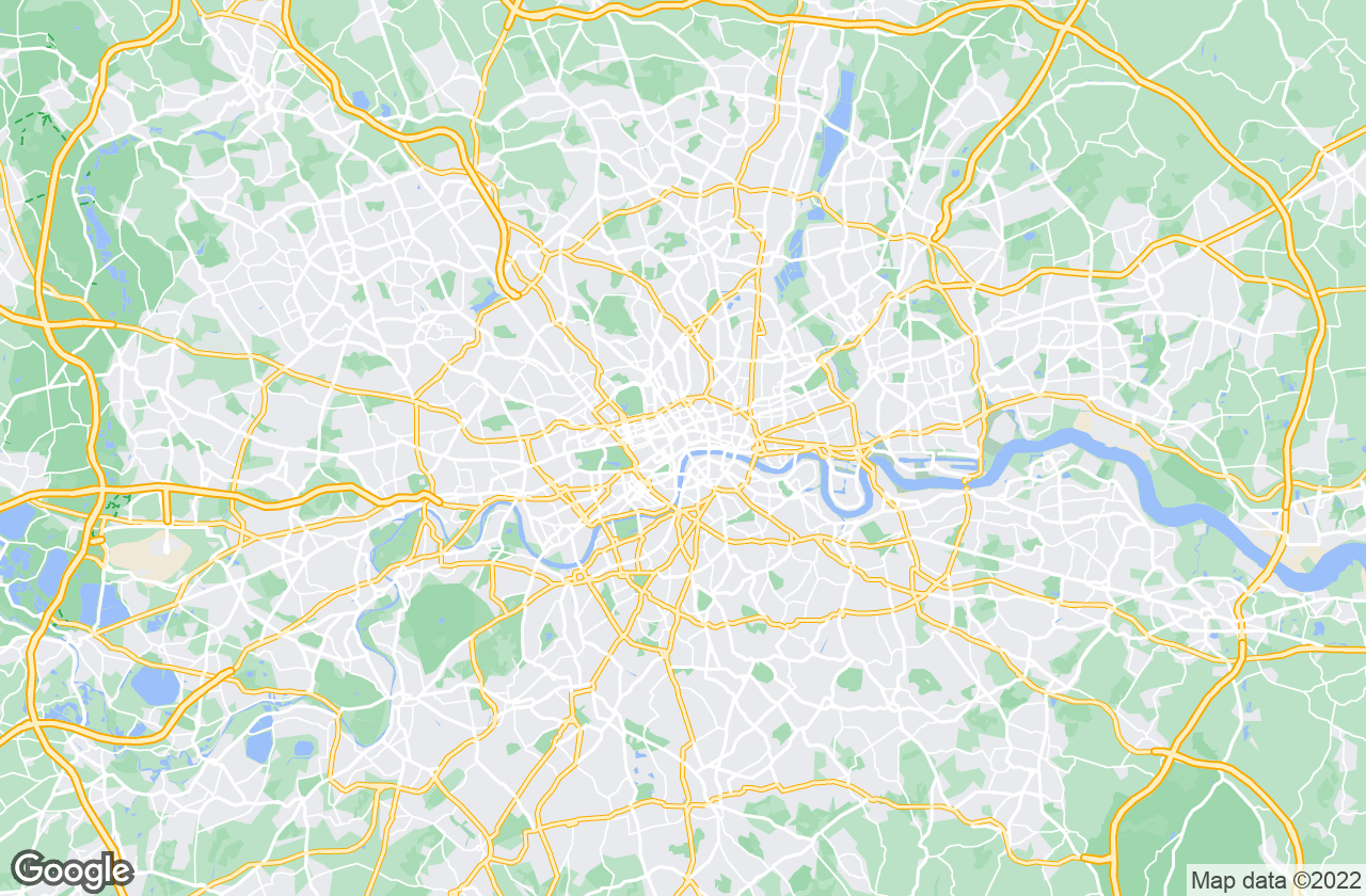 Google Map of london