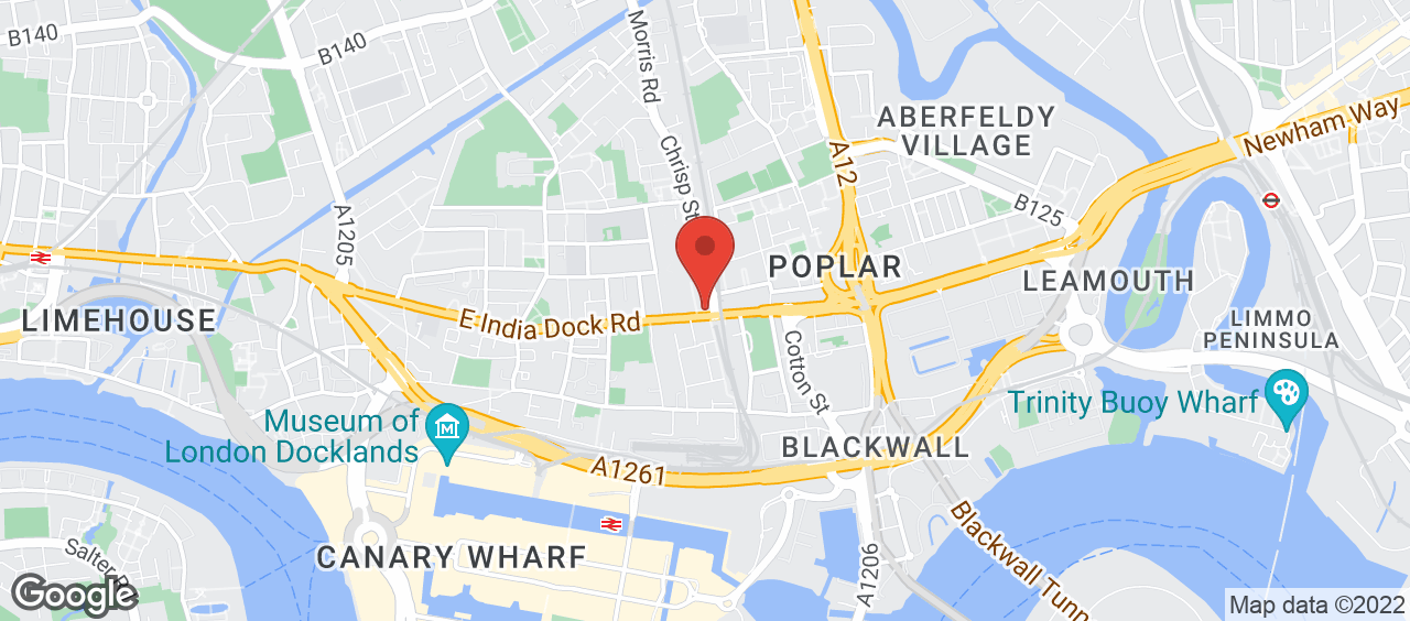 Poplar Baths Leisure Centre and Gym location and directions