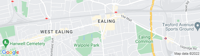 ealing map