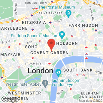 Map of Michael Kors at 28 James Street, London, Greater London WC2E 8PA
