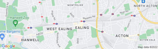 Map Of Ealing